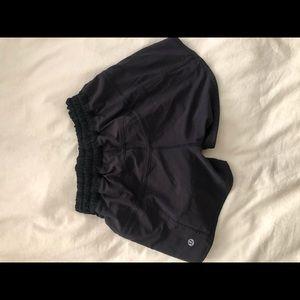 Lulu lemon black shorts